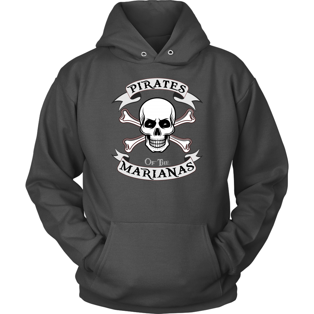 Pirates of the Marianas v3 Hoodie (Front)