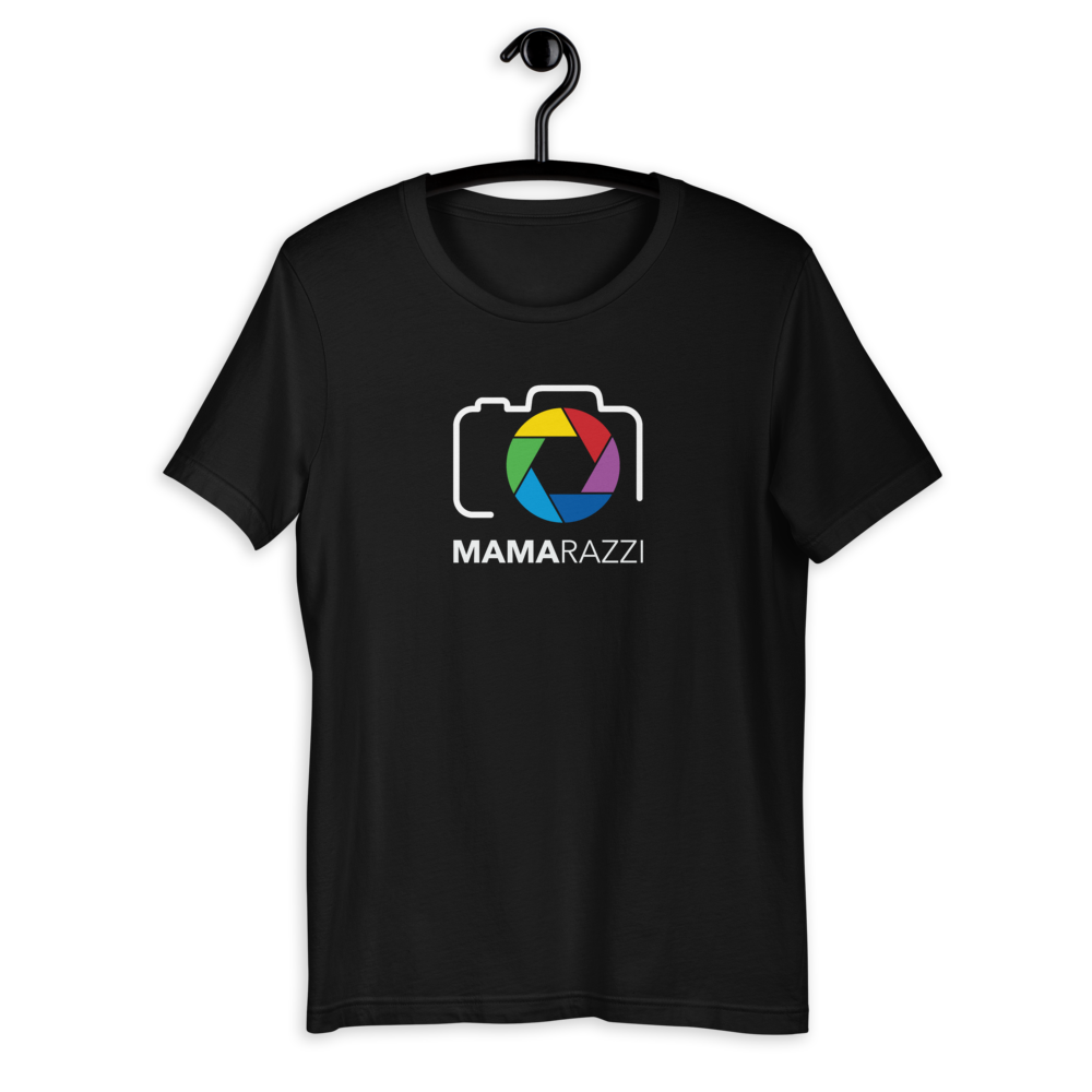 MamaRazzi Color Camera  Unisex T-Shirt