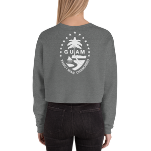 Neni Girl with GuStars back Crop Sweatshirt