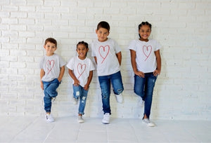Kiddies Valentines Tees