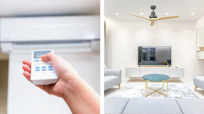 The Differences Between Fans and Air Conditioners