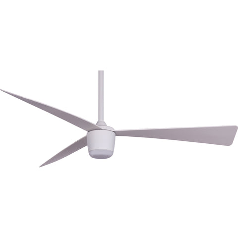 star 7 white ceiling fan 52 with light