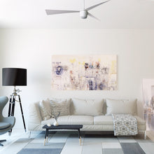 Load image into Gallery viewer, Matte White Star 7 Ceiling Fan 52""