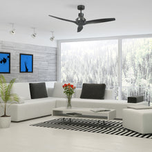 Load image into Gallery viewer, Black Star Propeller Indoor Outdoor Ceiling Fan