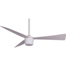 Load image into Gallery viewer, Matte White Star 7 Ceiling Fan 44""