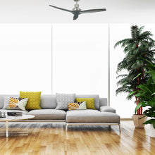Load image into Gallery viewer, Grey Star Propeller Indoor Outdoor Ceiling Fan