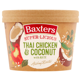 Baxters Super-Licious Thai Chicken & Coconut with Rice 350g