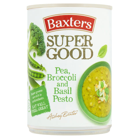 Baxters Super Good Pea, Broccoli, and Basil Pesto Soup