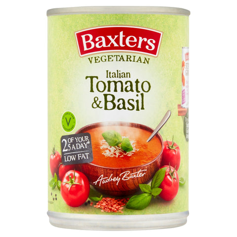 Baxters Vegetarian Italian Tomato With Basil Soup 400g