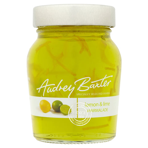 The Audrey Baxter Signature Range Lemon and Lime Marmalade 227g