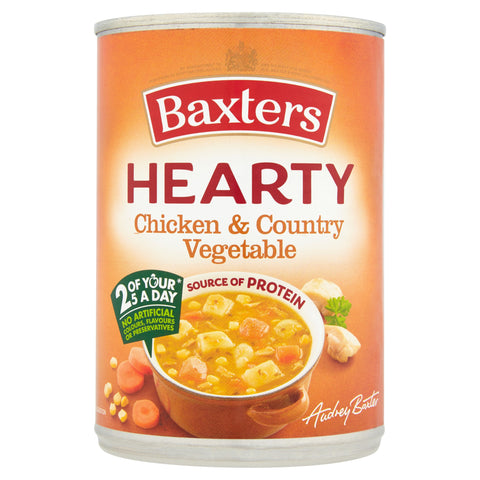 Baxters Hearty Chicken & Country Vegetable Soup 400g