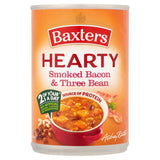 Baxters Hearty Smoked Bacon & Three Bean Soup 400g