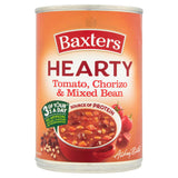 Baxters Hearty Tomato, Chorizo & Mixed Bean Soup 400g