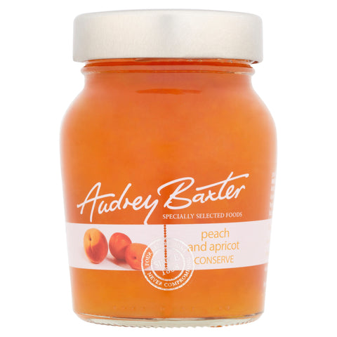 The Audrey Baxter Signature Range Peach and Apricot Conserve 240g