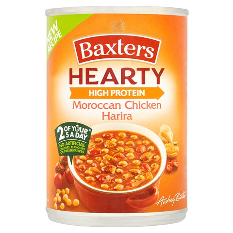 Baxters Hearty Moroccan Chicken Harira Soup 400g