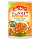 Baxters Hearty Quinoa, Ginger & Carrot Soup 400g