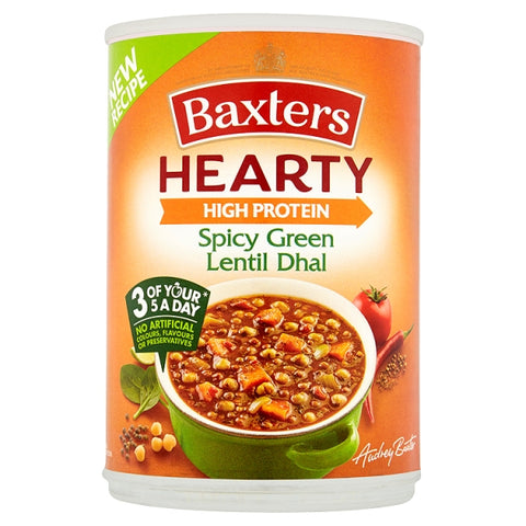 Baxters Hearty Spicy Green Lentil Dhal Soup 400g