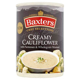 Baxters Chef Selections Creamy Cauliflower with Parmesan & Wholegrain Mustard Soup 400g