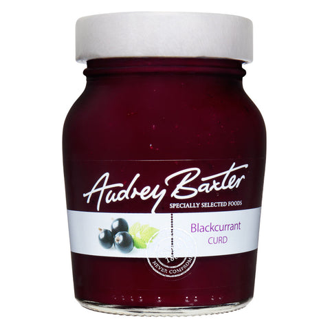 The Audrey Baxter Signature Range Blackcurrant Curd 230g