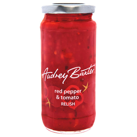 Audrey Baxter Red Pepper & Tomato Relish 220g