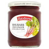 Baxters Rhubarb and Ginger Extra Fruity Jam 290g