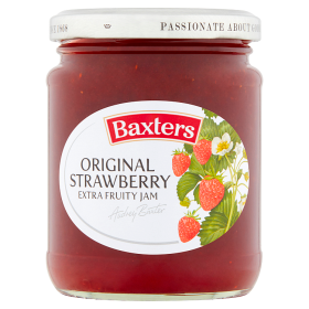 Baxters Original Strawberry Extra Fruity Jam 290g