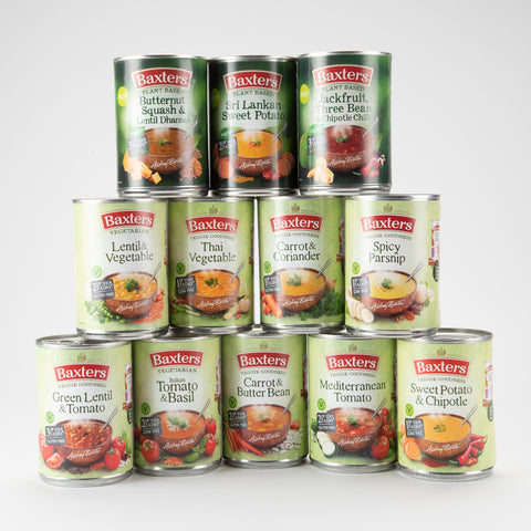 "Baxters Vegetarian ""Veggie Goodness"" Soup Taster Box"