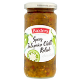 Baxters Spicy Jalapeno Chilli Relish 220g