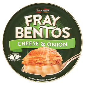 Fray Bentos Cheese & Onion 425g