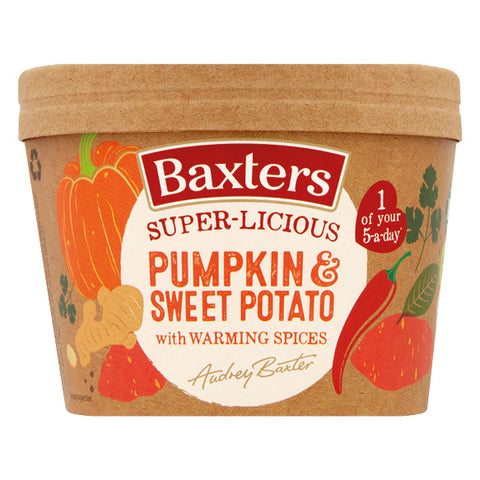 Baxters Super-Licious Pumpkin & Sweet Potato with Warming Spices 350g