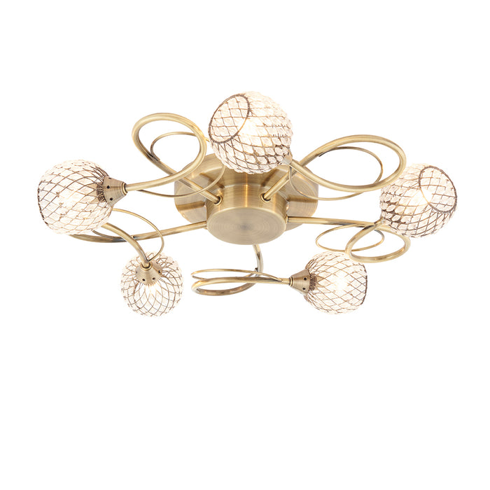 Aherne 5lt Semi flush73757