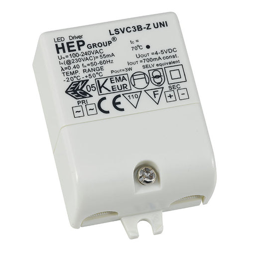 1-3 Watt 700mA Constant Current LED Driver - Steel City Lighting