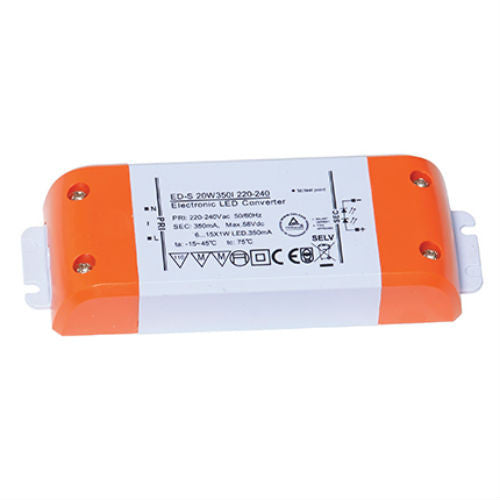 6-20 Watt 350mA Constant Current LED Driver - Steel City Lighting
