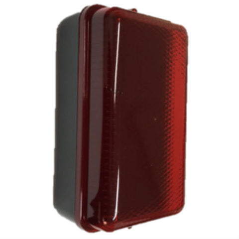 5 Watt IP54 LED Red Amenity Bulkhead