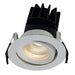 Unity 80 13 Watt Warm White LED Gimbal Downlight - Steel City Lighting
