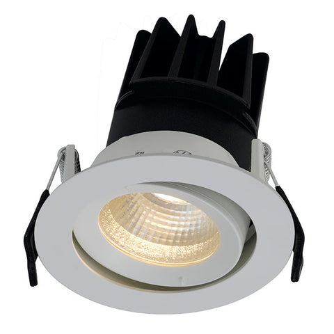 Unity 80 13 Watt Cool White LED Gimbal Downlight