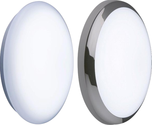 230V IP44 14W BF LED Emergency Bulkhead 300mm 1020lm 6000K