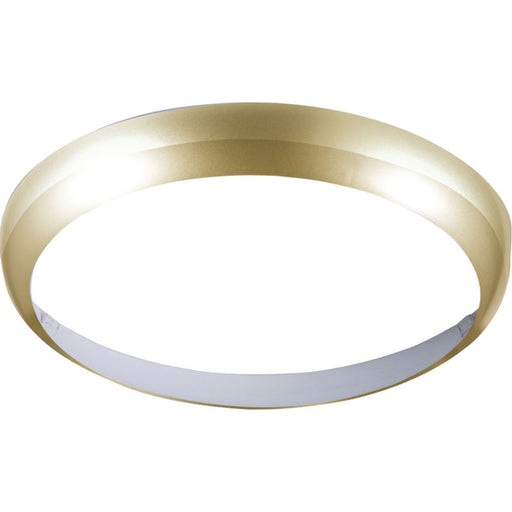Matte Brass Bezel for 14W BF LED Bulkhead 300mm - Steel City Lighting