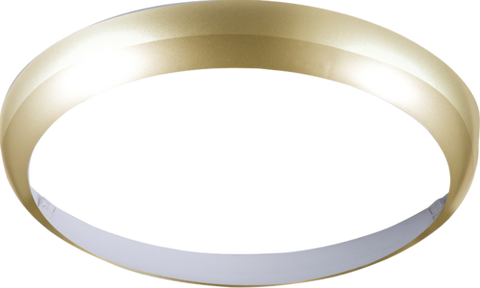 Matt Brass Bezel for 14W BF LED Bulkhead 300mm