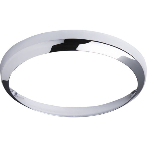 Chrome Bezel for BF LED Bulkhead 14 Watt 300mm - Steel City Lighting