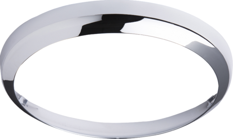 Chrome Bezel for BF LED Bulkhead 14 Watt 300mm