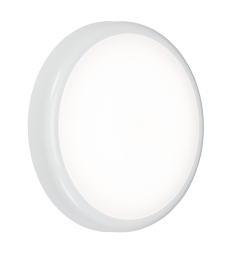230V IP65 14W CCT Adjustable LED Bulkhead with Emergency - Steel City Lighting