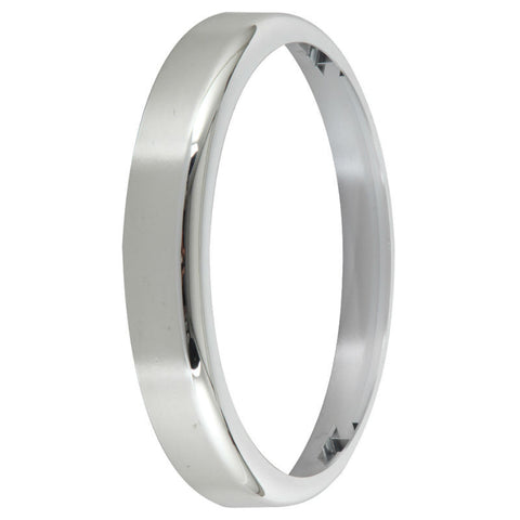 Chrome Bezel Accessory for BT20 Flush Bulkhead Range