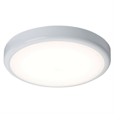 IP44 20 Watt 6000K LED Emergency Flush Bulkhead with Microwave Sensor