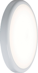 230V IP44 9W Emergency Trade LED Flush 6000K (256mm)