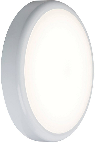 230V IP44 9W Trade LED Flush 6000K (256mm) - Steel City Lighting