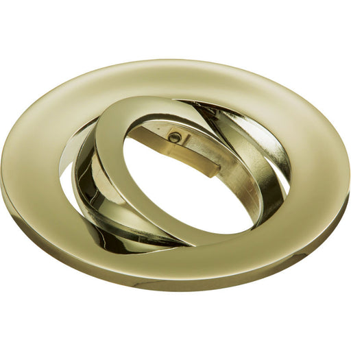 Brass Tilt Bezel for EVOT and EVOXLT - Steel City Lighting