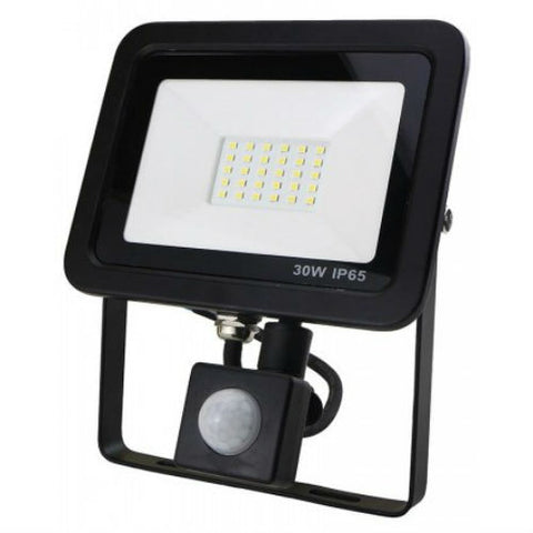 30 Watt LED AC Driverless Floodlight with PIR Sensor