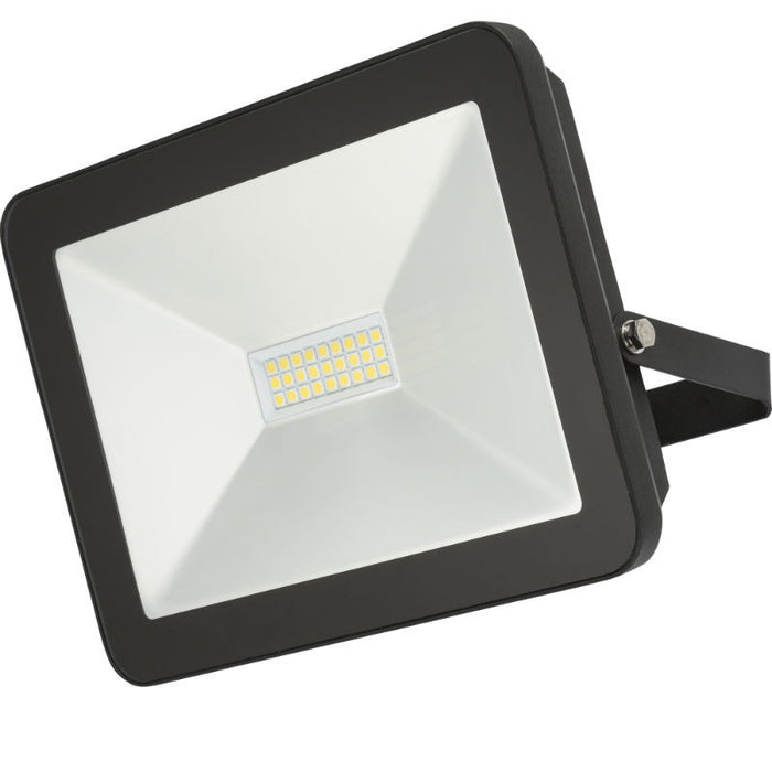 100 Watt IP65 LED Black Die-Cast Aluminium Floodlight - Steel City Lighting