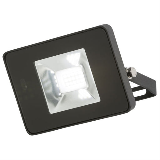 10 Watt IP65 LED Die-Cast Aluminium Floodlight with Microwave Sensor - Steel City Lighting